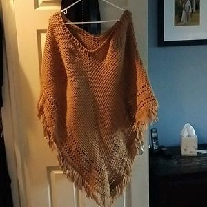 Tops - Price Drop! Alpaca London poncho